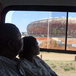 Rea Vaya will offer its special World Cup service to get football fans to Soccer City for the final